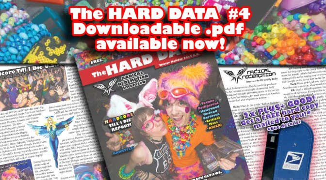 The HARD DATA issue 4 Downloadable .pdf