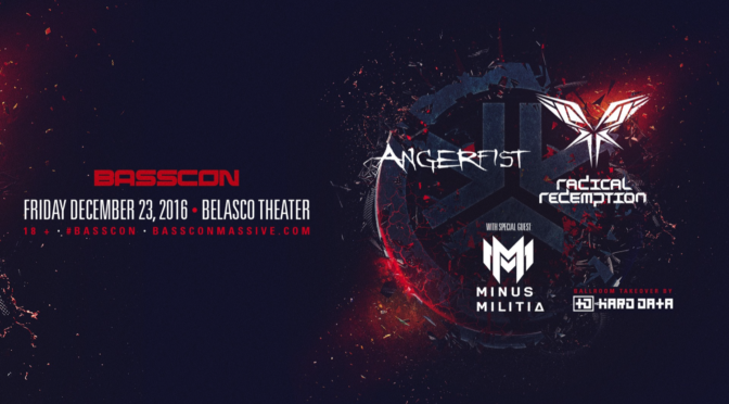 Basscon presents Angerfist, Radical Redemption, Minus Militia and The Hard Data Ballroom Takeover Event Review