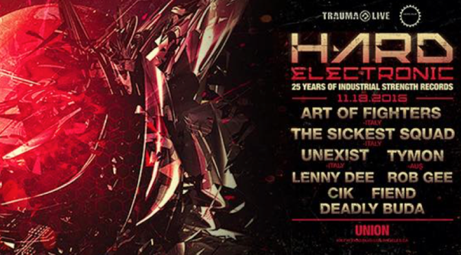 Hard Electronic: 25 Year of Industrial Strength Records, Los Angeles Event Review