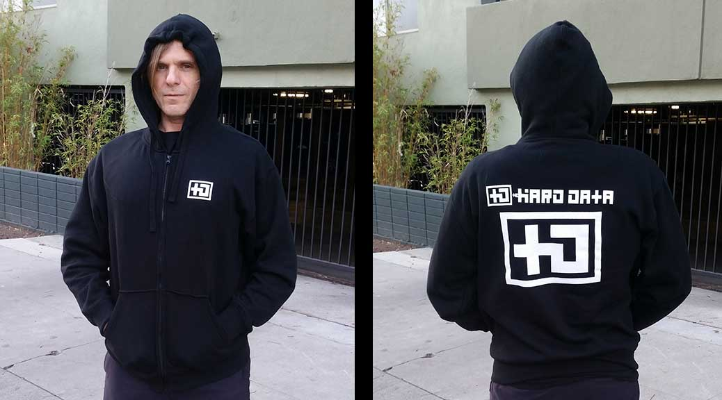 The HARD DATA Hoodie is now available to ship worldwide.