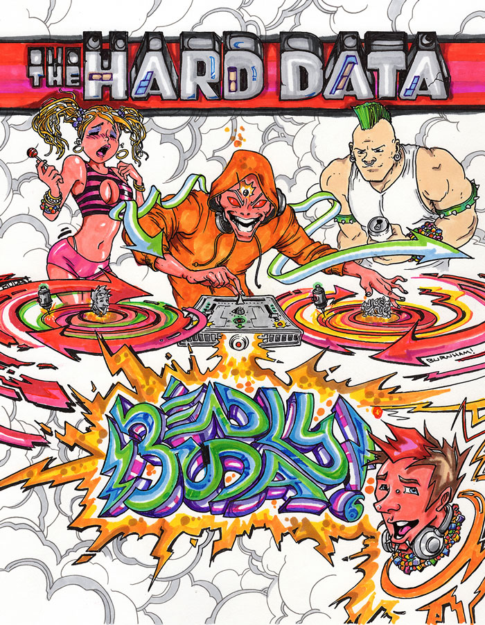 Deadly Buda Rave Comics Part 1 Cover