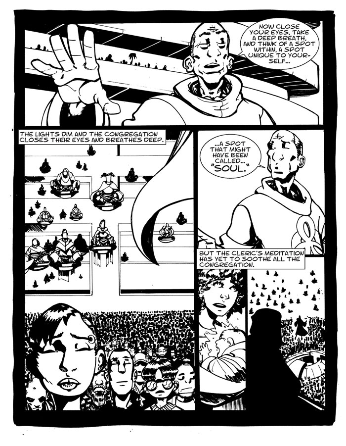 Deadly Buda Rave Comics Part 1 page 4