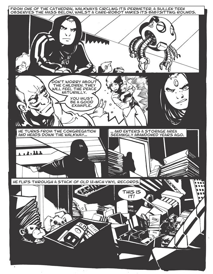 Deadly Buda Rave Comics Part 1 page 5