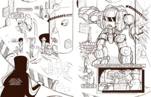 Deadly Buda Rave Comics Part 3 page 3 and 4
