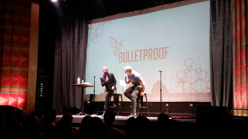 Dave Asprey and Neil Strauss compare notes about relationships and mitochondria on the Head Strong book tour.