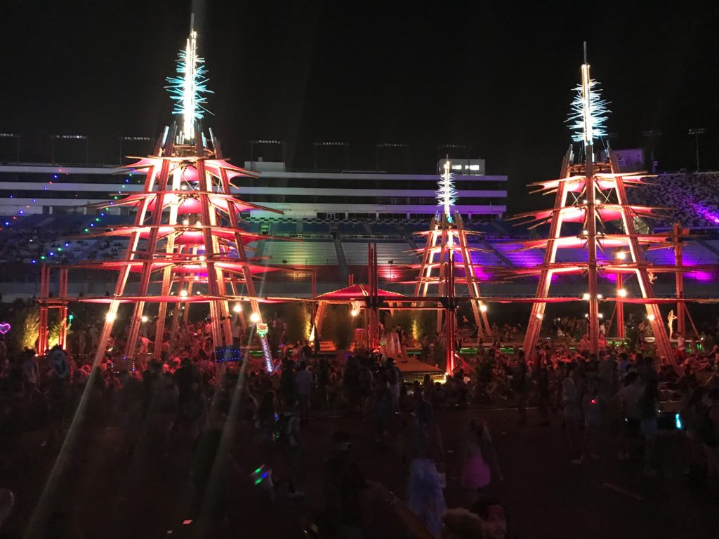 EDC 2017's Chill-Out area