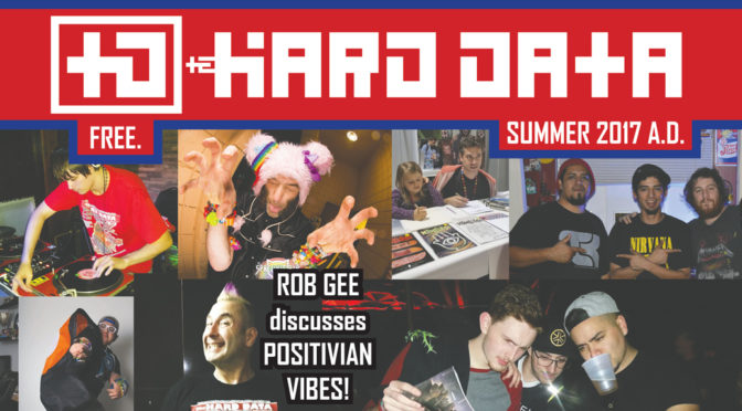 The HARD DATA issue 12! Celebrates 2 years Rocking Ink!