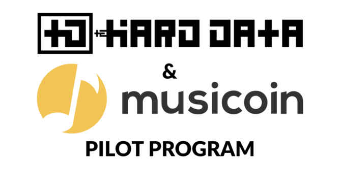 The Hard Data and Musicoin Pilot Program