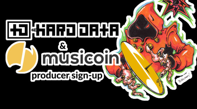 Introducing Musicoin to the Music-Producing Friends and Family of The HARD DATA